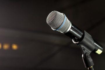 Microfono-Cosplay-Musica
