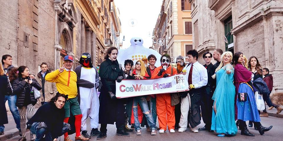 Coswalk Rome