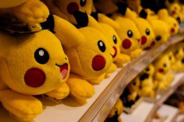 Pikachu-peluches-Pokémon
