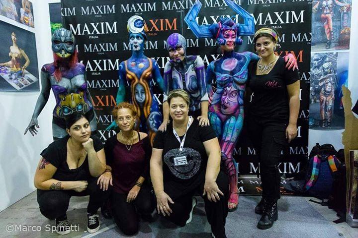 Body-Art-al-Romics-con-Maxim-Italia