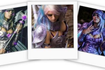 Reika-Blackcandy-cosplay-Original-Warrior-Angel