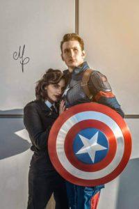 Federica-Palmieri-Cristiano-Wolf-Captain-America-Peggy-Carter