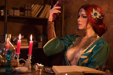 Irina-Meier-Cosplay-Triss-Merigold-The-Witcher