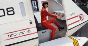 Giulia-Iannetti-T' POL vulcaniana della serie televisiva Star Trek Enterprise