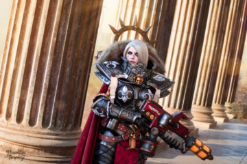 Kinpatsu-Cosplay-Sister-of-Battle-Warhammer-40k