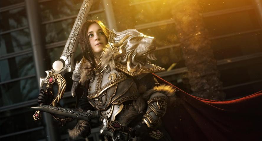 Oshley-Cosplay-Varian-Vrynn-World-of-Warcraft