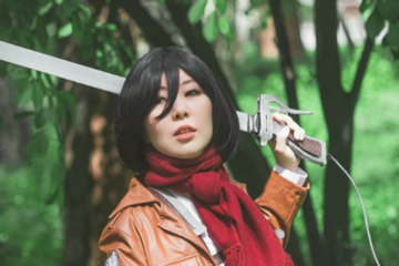 attack-on-titan-adelina-cosplay-mikasa-ackerman