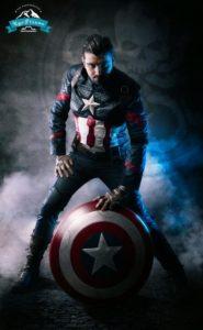 Max Grayson Cosplay Capitan America