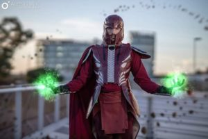 Max Grayson Cosplay Magneto Xmen Apocalipse