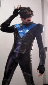 Max Grayson Cosplay Nightwing Justice League