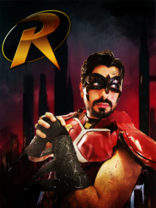 Max Grayson Cosplay Robin Batman