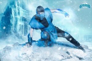 Max Grayson Cosplay Sub Zero Mortal Combat