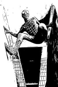 Antonio Baraccani Spiderman 9