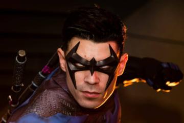 Dynamite Webber Cosplay Nightwing