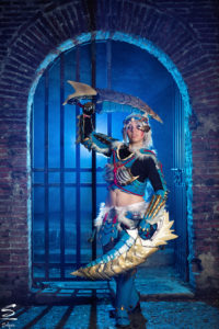 Lelly Cosplay zinogre armor set da monster hunter 2