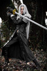 Lion Cosplay Sephirot Final Fantasy VII
